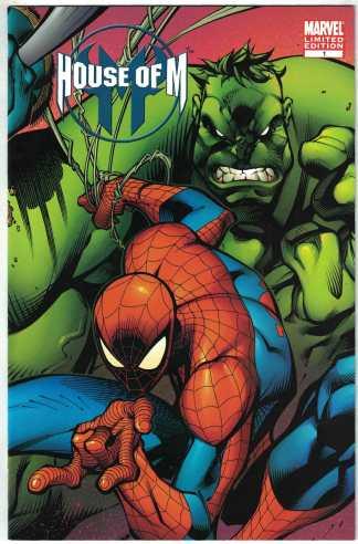 House of M #1 Joe Madureria Chicago Comic Con Variant Marvel 2005 VF/NM