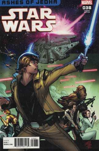 Star Wars #38 1:25 Pepe Larraz Homage Variant Marvel 2015