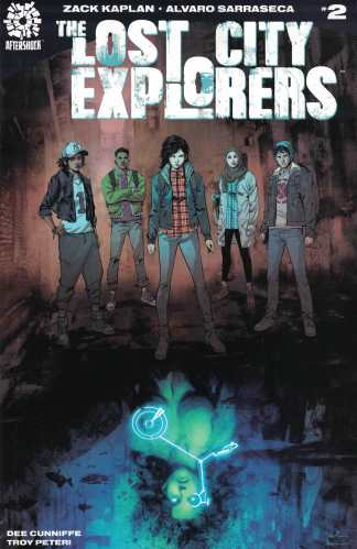 Lost City Explorers #2 First Print Cover A 1st Aftershock 2018