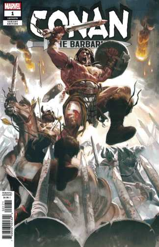 Conan the Barbarian #1 1:25 Daniel Acuna Variant Marvel 2018