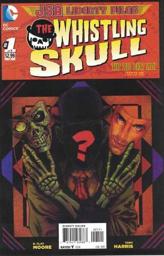 JSA Liberty Files The Whistling Skull #1 1:10 Tony Harris Variant DC 2012
