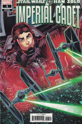 Star Wars Han Solo Imperial Cadet #3 1:25 Todd Nauck Variant Marvel 2018
