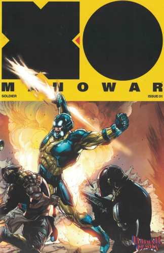 X-O Manowar #1 Segovia Ultimate Comics Exclusive Connecting Variant Valiant 2017