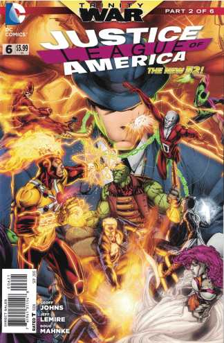 Justice League of America #6 1:25 Brett Booth Variant DC New 52 2013