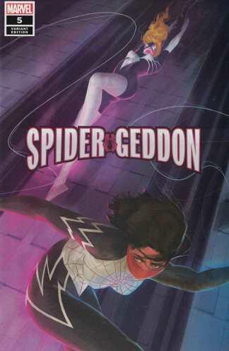 Spider-Geddon #5 1:50 Vanesa Del Rey Variant Marvel 2018 Spider-Man Woman Silk