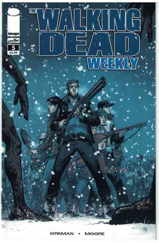 Walking Dead Weekly #5 First Print Robert Kirkman 2011 Image Comics BIR