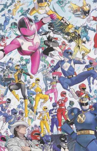 Power Rangers #1 1:10 Dan Mora Every Ranger Ever Variant Boom! 2020