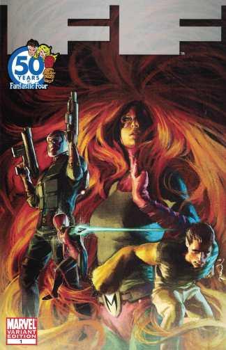FF #1 1:20 Gerald Parel Villains Variant Fantastic Four Marvel 2011