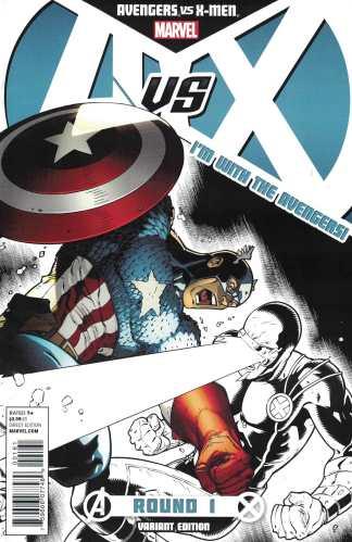 Avengers vs X-Men #1 Team A Captain America Ryan Stegman Variant Marvel 2012