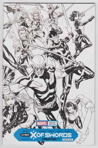 X of Swords Creation #1 1:100 Mark Brooks Wraparound Variant X-Men VF/NM