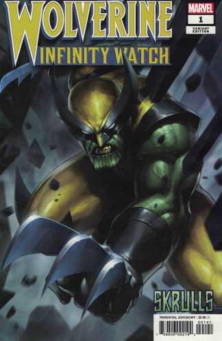Wolverine Infinity Watch #1 Jee-Hyung Lee Skrulls Variant Marvel 2019
