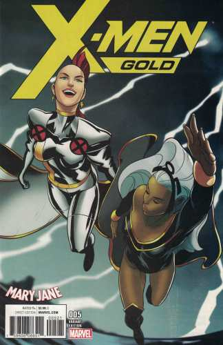 X-Men Gold #5 Piper Mary Jane Watson Variant Marvel 2017 Storm