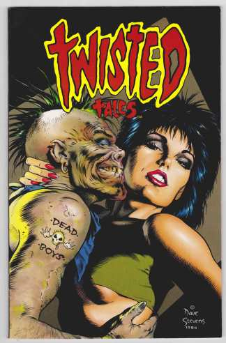 Twisted Tales #1 First Print Eclipse 1998 Bruce Jones Stories VF/NM
