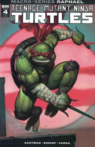 Teenage Mutant Ninja Turtles Macro-Series #4 1:10 Raphael Variant TMNT 2018