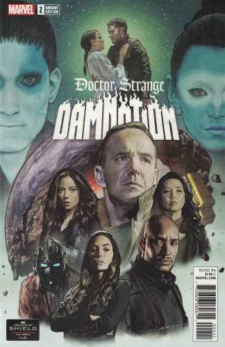 Doctor Strange Damnation #2 1:10 Agents of SHIELD Road to 100 Variant 2018