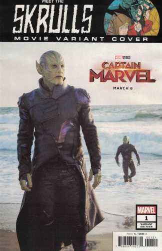 Meet the Skrulls #1 1:10 Captain Marvel Movie Photo Variant Marvel 2019