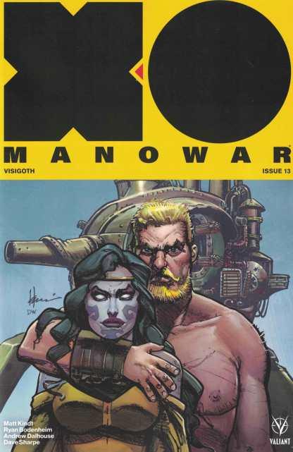 X-O Manowar #13 1:50 Howard Chaykin Icons Variant Cover D Valiant 2017