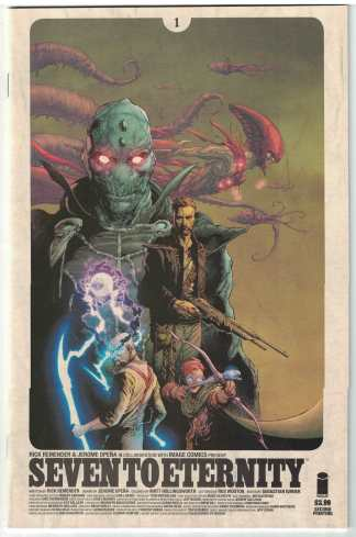 Seven to Eternity #1 Second 2nd Print Image Comics 2016 Remender NM BIR