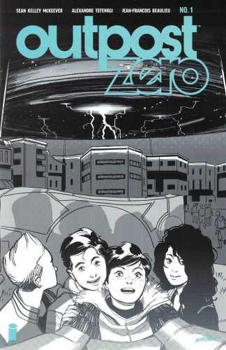 Outpost Zero #1 Ashcan Variant Image Comics 2018 Skybound