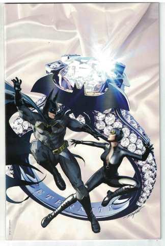 Batman #50 Mike Mayhew Comic Pop Catwoman Wedding Virgin Variant DC 2018 VF/NM
