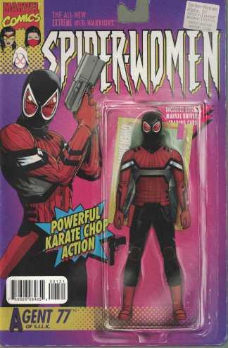 Spider-Women Alpha #1 Christopher Action Figure Variant Marvel 2015
