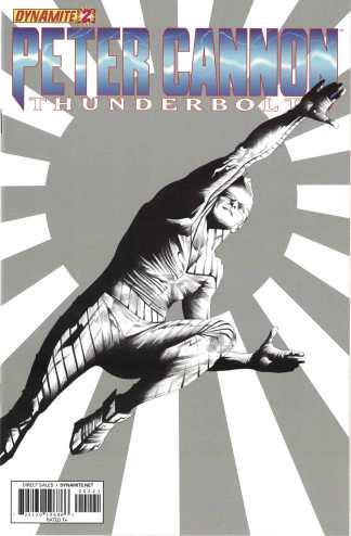 Peter Cannon Thunderbolt #2 1:10 Jae Lee Variant Dynamite 2012