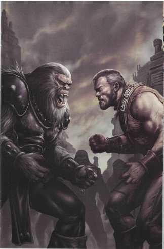 Planet of Apes #3 1:10 Richardson Incentive Virgin Art Variant Boom Cover C 2011