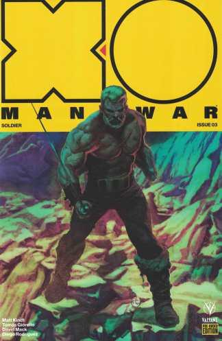 X-O Manowar #3 Giorello Pre-Order Edition Variant Valiant 2017