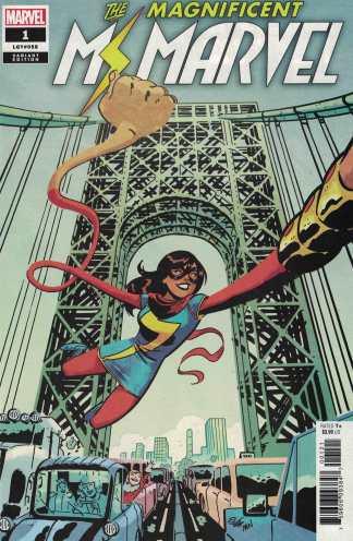 Magnificent Ms Marvel #1 1:50 Elsa Charretier Variant Marvel 2019