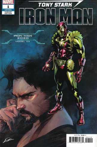 Tony Stark Iron Man #1 Lozano 2020 Armor Variant Marvel 2018 Fresh Start