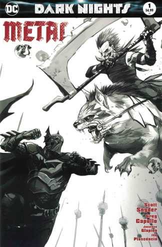 Dark Nights Metal #1 Francesco Mattina Sketch Variant DC 2017