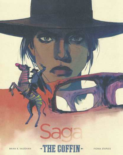 Saga #43 1:100 Fiona Staples Color Art Print The Coffin Image 2012