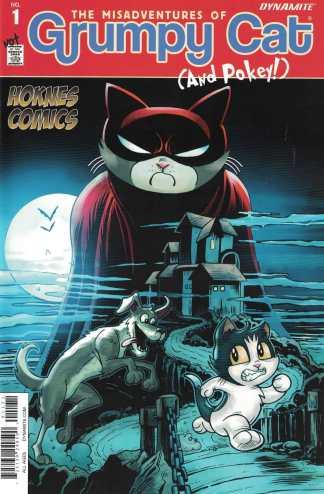 Grumpy Cat #1 Hoknes Comics Exclusive Variant Batman #227 Homage 2015 Pokey