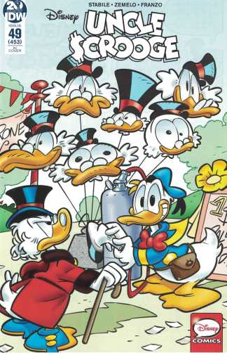 Uncle Scrooge #49 1:10 Stefano Intini Variant IDW 2015 Disney Donald Duck VF/NM