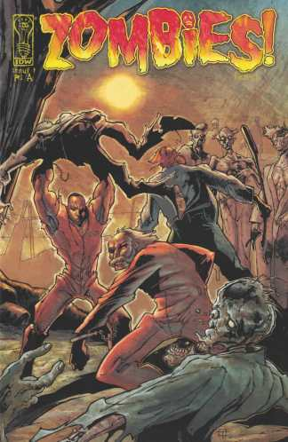Zombies Feast #1 Retailer Incentive Variant RI-A IDW 2006