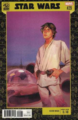 Star Wars #29 Kevin Wada 40th Anniversary Variant Marvel 2015