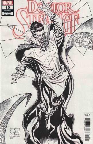 Doctor Strange #10 1:200 Joe Quesada Hidden Gems B&W Sketch Variant Marvel 2018