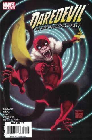 Daredevil #110 Kaare Andrews Marvel Apes Variant 1998