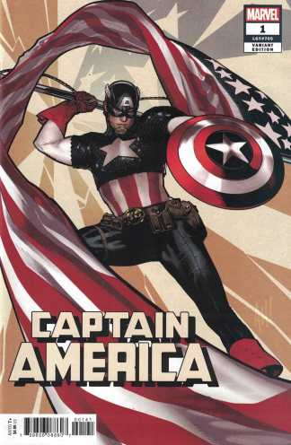 Captain America #1 Adam Hughes Variant Marvel 2018