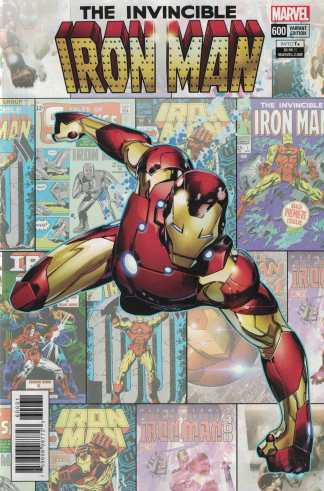 Invincible Iron Man #600 1:25 Olivier Coipel Variant Marvel Legacy