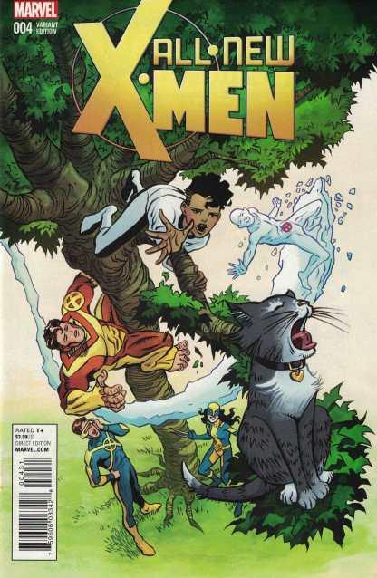 All New X-Men #4 1:10 June Brigman Classic Variant ANAD Marvel 2015