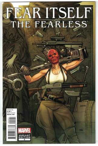 Fear Itself the Fearless #2 1:25 Frank Cho Variant Marvel 2011 Sin VF/NM