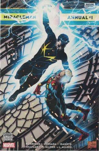All New Miracleman Annual #1 Joe Quesada Variant Marvel 2014
