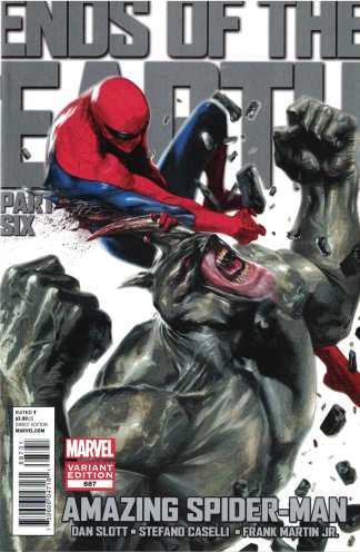 Amazing Spider-Man #687 1:15 Dell'Otto Rhino Variant Marvel 1998