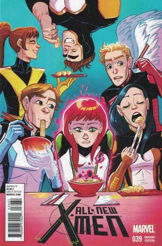 All New X-Men #39 Faith Erin Hicks Women of Marvel NOW Variant 2012