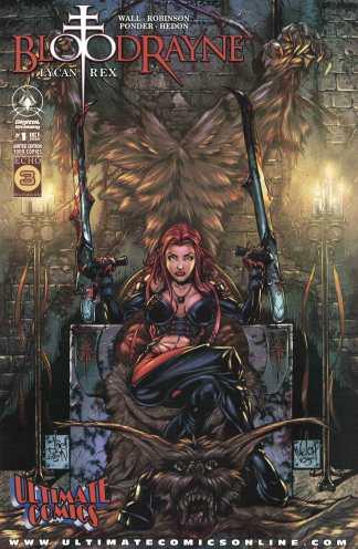 Bloodrayne Lycan Rex #1 Walker Ultimate Comics Color Variant 2005