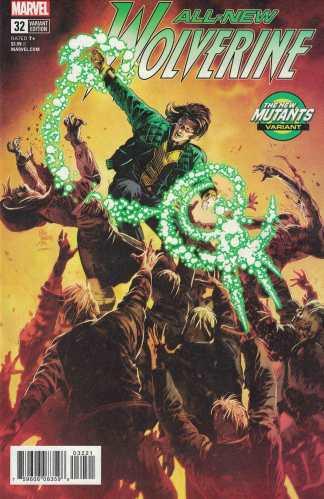 All-New Wolverine #32 Mike Deodato Jr New Mutants Variant Marvel 2015