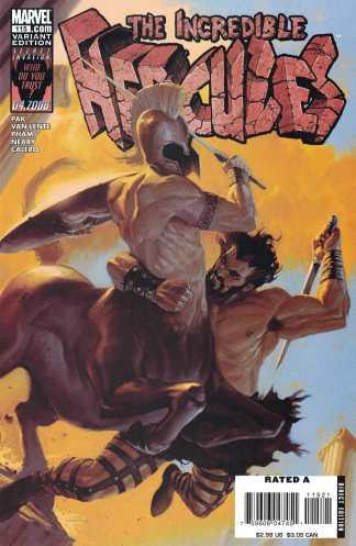 The Incredible Hercules issue #115 1:15 Marko Djurdjevic Variant Marvel 2008