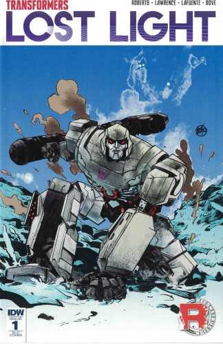 Transformers Lost Light #1 1:50 Paul Pope Incentive Variant RI-C IDW 2016