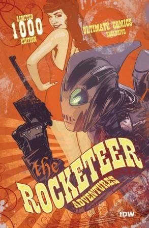 Rocketeer Adventures #1 Ultimate Comics Exclusive Tommy Lee Edwards Variant 2011